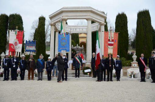 24.3.13 Commemorazione dell'eccidio di Montalto con la presenza del Presidente nazionale Carlo Smuraglia