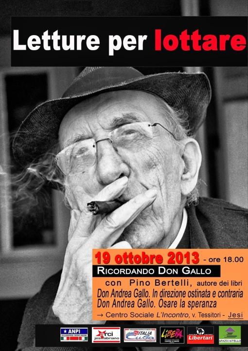 Ricordando Don Gallo