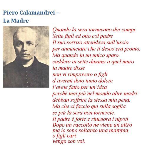 Piero Calamandrei LA MADRE